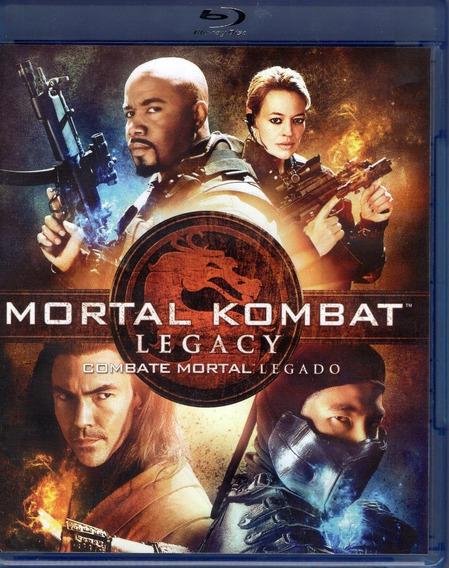 Mortal Kombat Legacy Combate Mortal Legado Pelicula Blu-ray