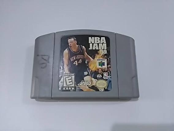 Cartucho Nintendo 64 Nba Jam 99