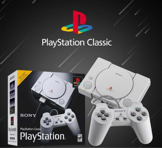 Playstation One Classic Edition Mini Original Lacrado + Nf