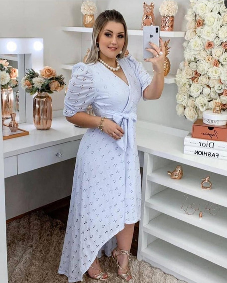 Vestido Victoria - Moda Evangélica Comportada
