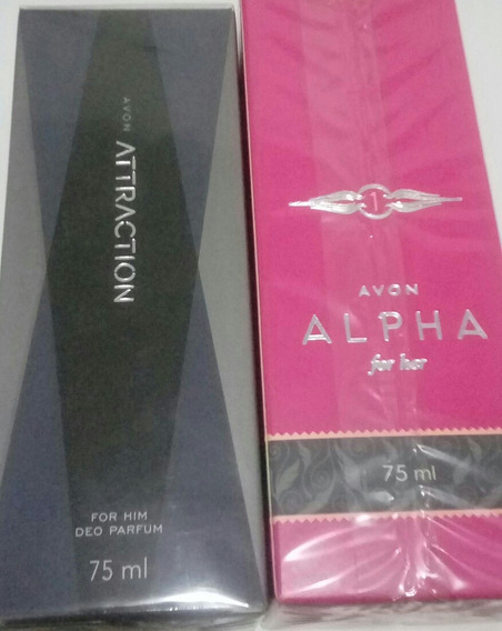 Perfumes Avon Attraction E Alpha For Her 75ml