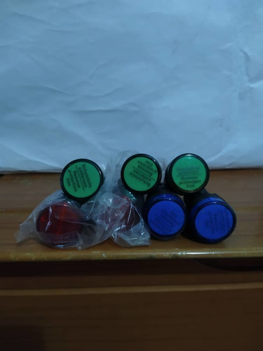 Luces Piloto Roja 22mm