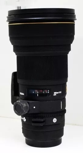 Lente 300mm F/2,8 Sigma Ef