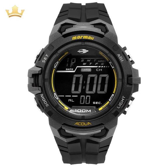 Relógio Mormaii Masculino Mo1147a/8p C/ Garantia E Nf