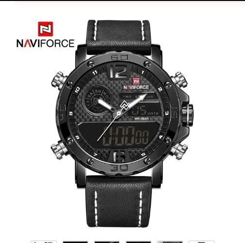 Relógio Militar Completo À Prova D