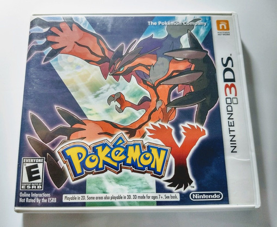 Pokemon Y Version - Nintendo 3ds - Usada Impecável Completa