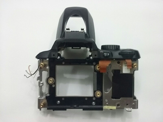 Gabinete Superior Completo Nikon D60 Com Disparador E Flash