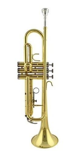 Trompeta Knight Jbtr-300l Con Estuche Rd Music