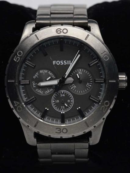 Relógio De Pulso Fossil Bq1057 42mm