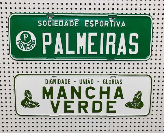 Placa De Carro Personalizada Time De Futebol