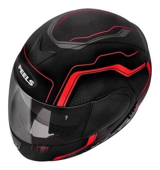 Capacete para moto escamoteável Peels Urban Ultron vermelho tamanho 58