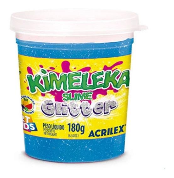 Kimeleka Geleca Slime 180g - Art Kids - Acrilex - Glitter