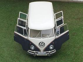 Vw Kombi T1 Luxo Corujinha Jarrinha 6 Portas 1962