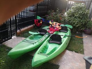2 Kayak Mas Accesorios