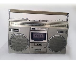 Radio Grabadora Panasonic Retro De Los 80s Modelo Rx 5104