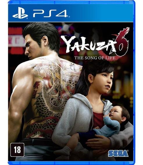 Yakuza 6 The Song Of Life - Mídia Física - Ps4 - Novo
