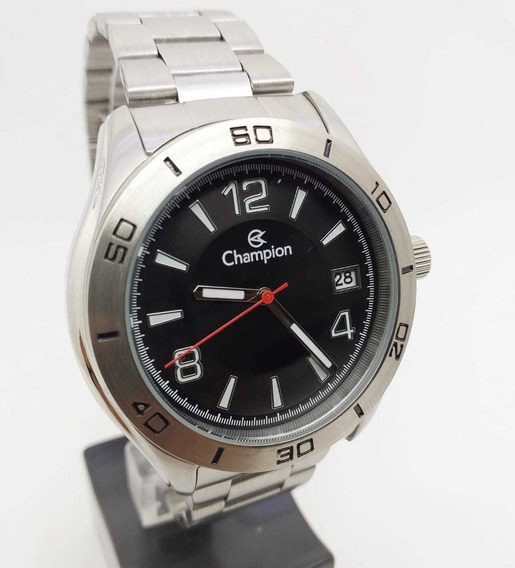 Relógio Masculino Champion Prata Ca31186t Orignal Pulseira Confortável-resistente