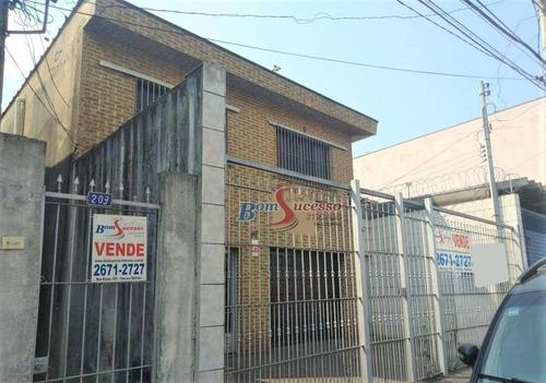 Imagem 1 de 15 de Sobrado Com 4 Dormitórios À Venda, 300 M² Por R$ 950.000,00 - Vila Nova York - São Paulo/sp - So1550