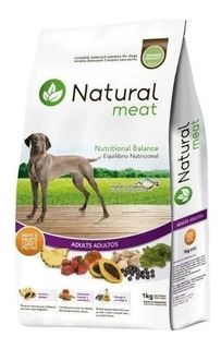Alimento Natural Meat Perro Adulto 15 Kg
