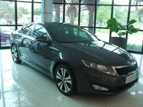 Kia Optima Cinza 2011 2.0