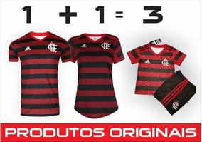 Camisas Do Flamengo 2019 [pacote Família]