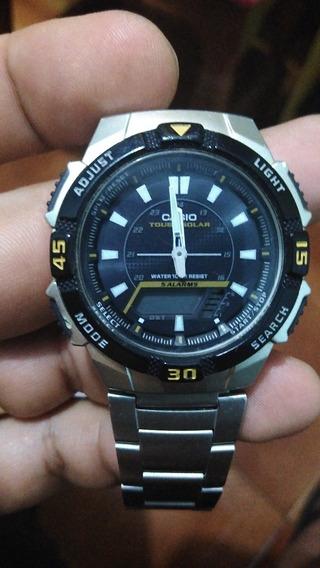Relógio Casio Solar Tough Solar G Shokc Único Do Site