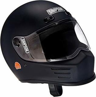 Calle Simpson Msb15l8 Bandit Casco De La Motocicleta M2015 G