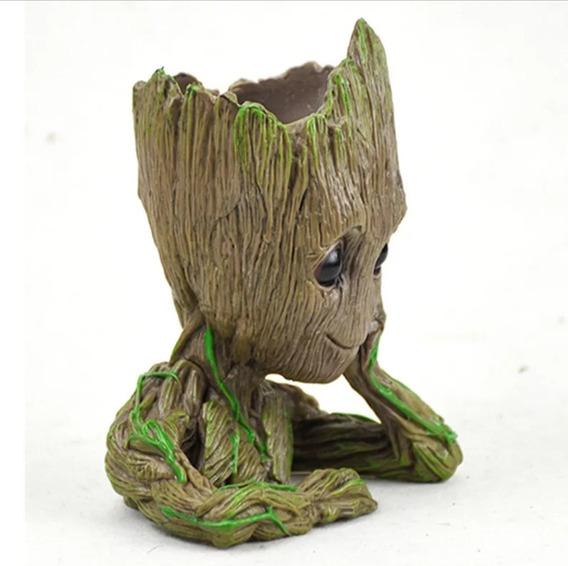 Vaso Plantas Porta Objetos Baby Groot Guardiões Da Galáxia