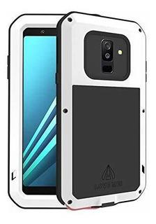 Ddj Carcasa Para Samsung Galaxy A6 2018 Aluminio Y Metal, In