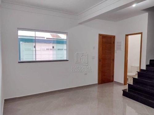Imagem 1 de 30 de Sobrado Com 2 Dormitórios À Venda, 57 M² Por R$ 447.000,00 - Parque Das Nações - Santo André/sp - So3127