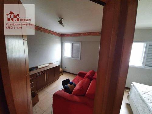 Imagem 1 de 7 de Apartamento Com 2 Dormitórios À Venda, 49 M² Por R$ 271.000 - Vila Príncipe De Gales - Santo André/sp - Ap3458