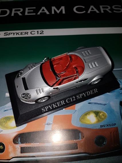 Spyker C12 Spyder 1/43 Ixo Dream Cars Con Fasciculo