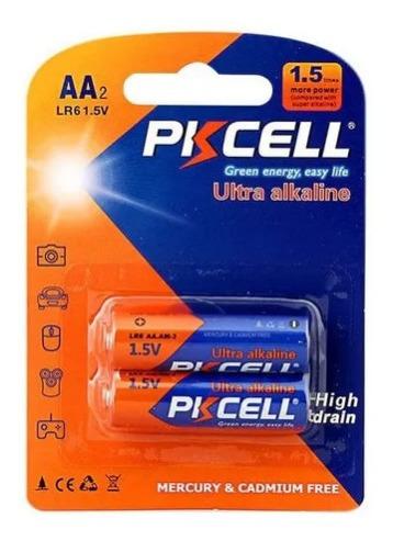 Bateria Pkcell Aa 4 Blister De 2 Unidades