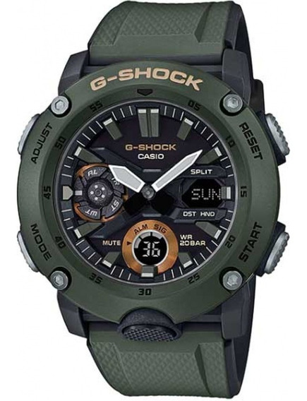 Relogio Casio G-shock Carbon Core Guard Ga-2000-3adr + Nfe