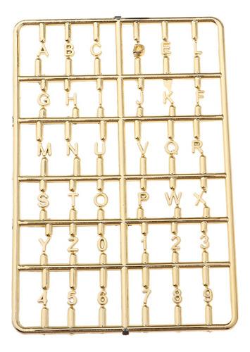 Imagen 1 de 4 de Letras De Alfabeto De Buzones En Miniatura Adorables Para