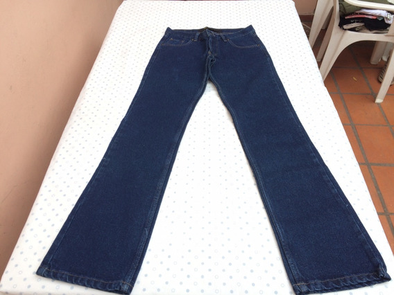 Jean Azul Mujer Recto Talle 36 Marca Koxis