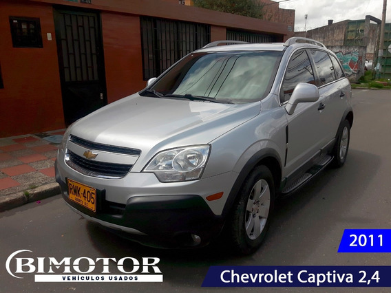 Chevrolet Captiva Sport 2,4 Full Equipo
