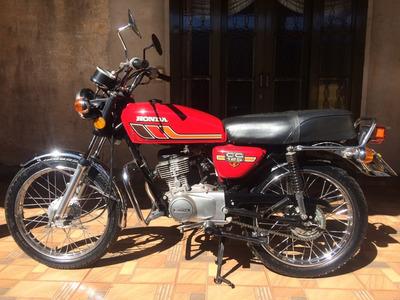 Cg 125 1979 Bolinha - Placa Preta