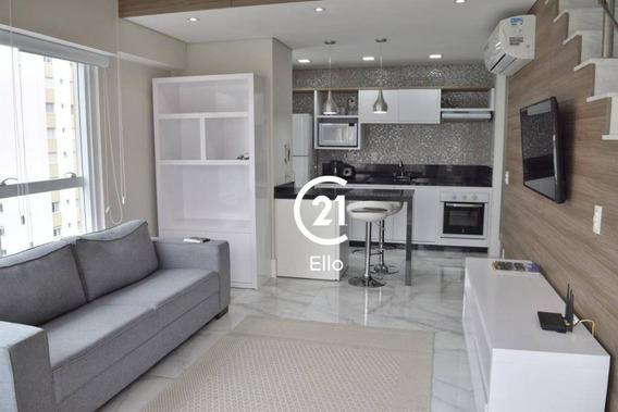 Loft Com 1 Dormitório Para Alugar, 54 M² Por R$ 8.000,00/mês - Jardim América - São Paulo/sp - Lf0026