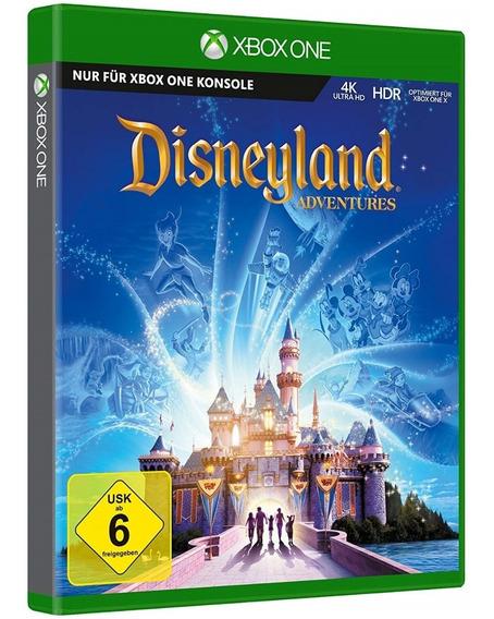 Jogo Kinect Disneyland Adventures Xbox One Disco Fisico Novo Lacrado Aventura Barato