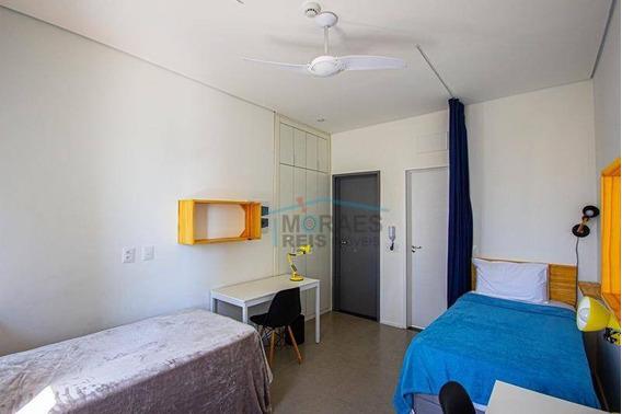 Studio Com 1 Dormitório Para Alugar, 20 M² Por R$ 1.500/mês - Santa Cecília - São Paulo/sp - St0082