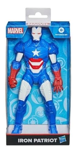 Imagem 1 de 3 de Boneco Marvel Homem De Ferro Patriota 24cm Iron Man Hasbro