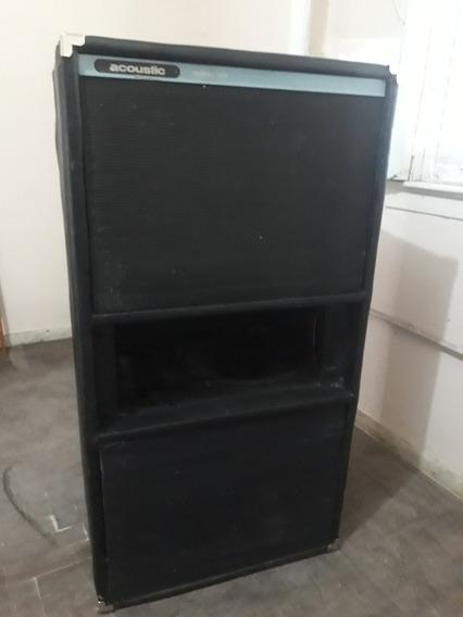 Super! Caja De Bajo Acoustic B408 4x15 Reacondicion Permuto