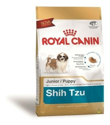 Ração Royal Canin Junior Cães Filhotes Raça Shih Tzu 2,5 Kg