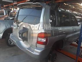 Sucata Pajero Tr4 2005 2.0 131cv Gasolina