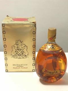 Antigo Whisky Dimple Haig Scotch Lacrado Com Caixa