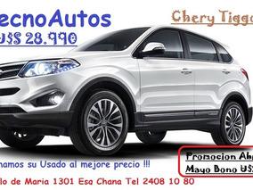 Chery Tiggo 5 2.0 Luxury - 100% Financiada-permutas !!