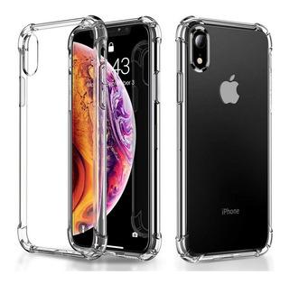 Forro Estuche Transparente iPhone 7 Plus 8 Plus Xr Xs Max
