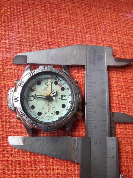 Relógio Aqualand Antigo Citizen 5810 Natulite No Estado