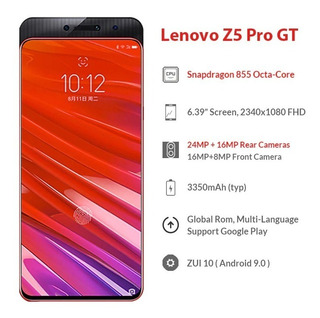 Lenovo Z5 Pro Gt 8gb/256gb Snap 855 Digital Tela Prt/entrega